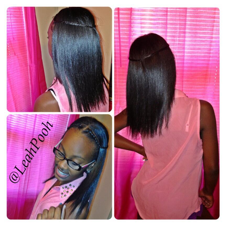 Silk Straightening Natural Hair Newhairstylesformen2014 Com